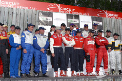 All the winning drivers