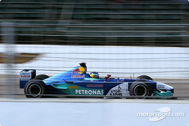 2002: Sauber-Petronas C21
