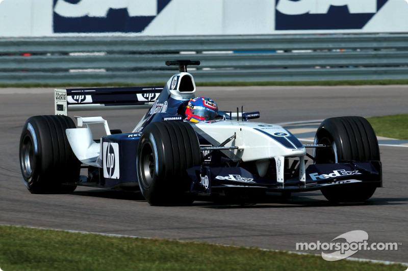 2002 : Williams-BMW FW24