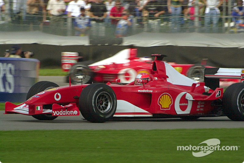 49. EE UU 2002, Ferrari F2002