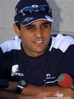 Interview for Juan Pablo Montoya
