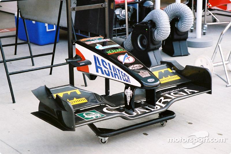 Alerón frontal de Minardi