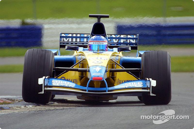 Renault R22 (2002) (Piloto probador)