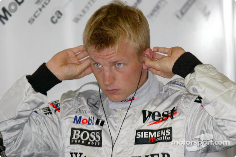 2002 - Kimi Raikkonen, McLaren Mercedes