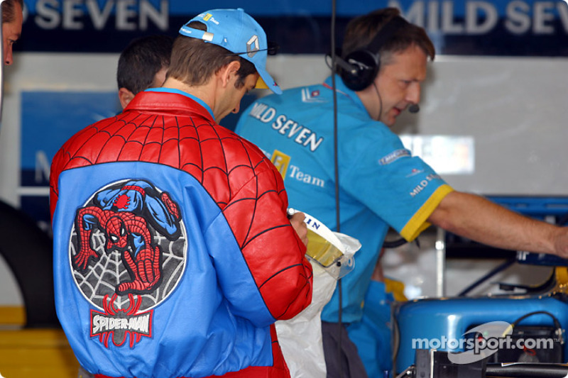Jarno 'Spiderman' Trulli
