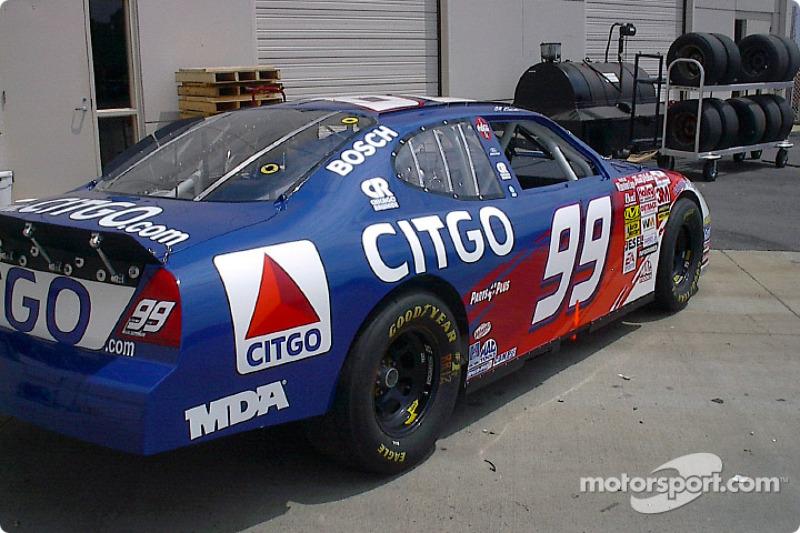 Presentación del # 99 CITGO Ford Taurus 2003