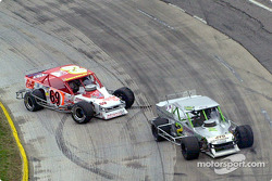 Junior Miller and J.R. Bertuccio spin out