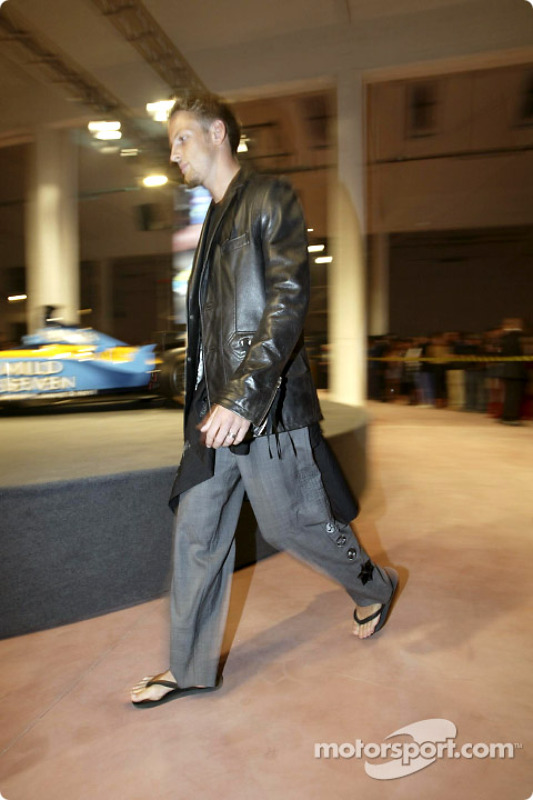 Fiesta de medios Spoon/Mild Seven RenaultF1: Jenson Button