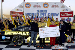 The 2002 World Pit Crew Champions, the Dewalt Power Tools Team