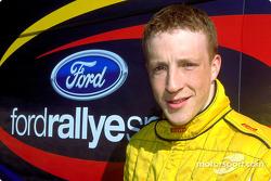 El  piloto del equipo juvenil de Ford Rallye, Kris Meeke