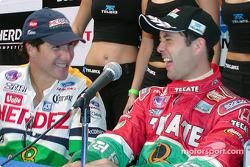 Mario Dominguez and Luis Diaz