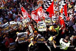 Garry Rogers Motorsport team celebrates victory