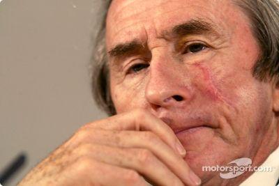 Jaguar Racing Niki Lauda media briefing