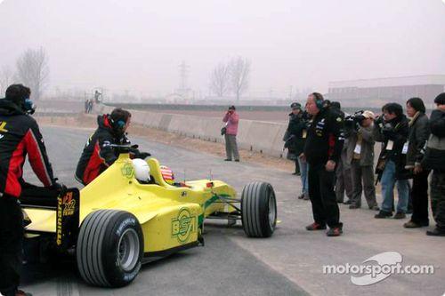Minardi F1x2 gösterisi, Çin