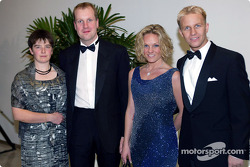 Philip Mills, Petter Sollberg, and their wives