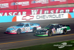 Kasey Kahne and Mike McLaughlin