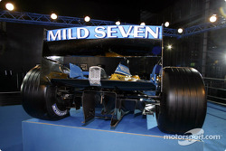 The new Renault F1 R23: rear end