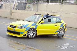 Eduardo Amorin, Antonio Marcondez and Gilberto Castanha; Audi S3 1.8 T