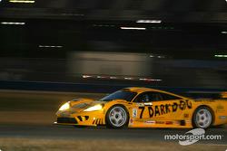 #7 Konrad Motorsport Saleen S7R: Franz Konrad, Airton Daré, Jean-François Yvon, Tony Seiler