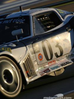 #03 Marcos Racing USA Marcos Mantis: Cor Euser, Peter van der Kolk, Rob Knook