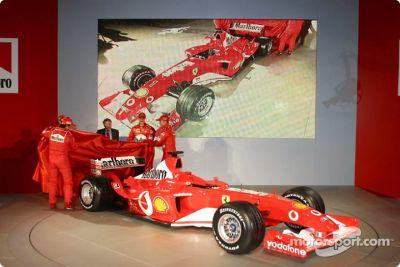 Ferrari F2003-GA lansmanı