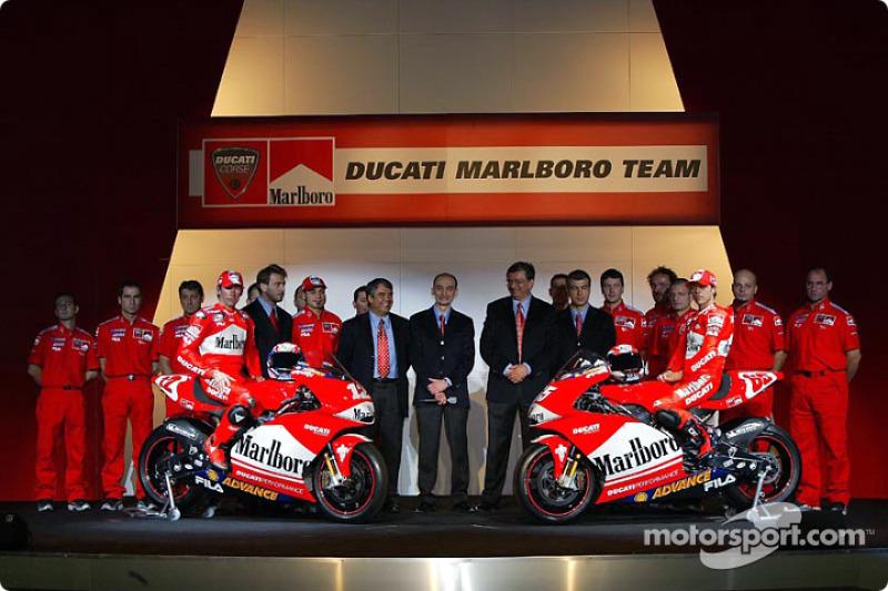 Ducati Desmosedici 2003 - Troy Bayliss e Loris Capirossi