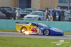 #46 Morgan Dollar Motorsports Corvette: Rob Morgan, Lance Norick
