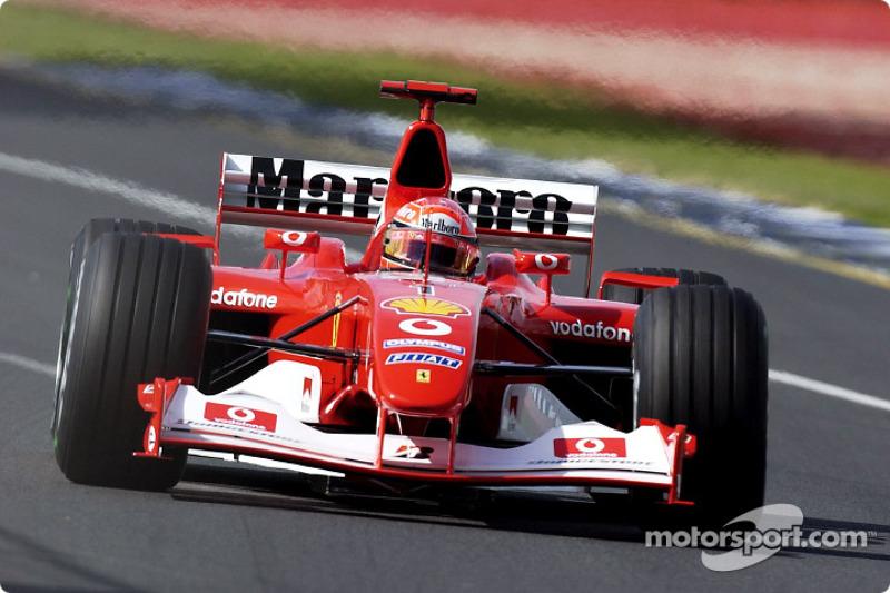#51 GP d'Australie 2003 (Ferrari F2003-GA)
