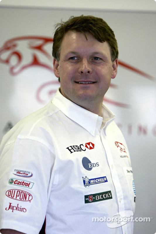 Dave Pitchford of Jaguar Racing