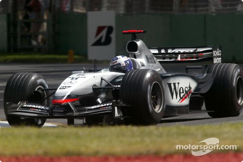 2003. Переможець: Девід Култхард, McLaren Mercedes MP4-17D