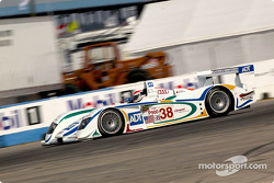 Emanuele Pirro in the #38 Audi R8 of Team ADT Champion Racing, fourth in qualifying