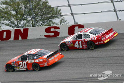 Tony Stewart and Casey Mears