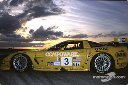 Test ride of Sebring with the Chevrolet Corvette C5-Rs and the