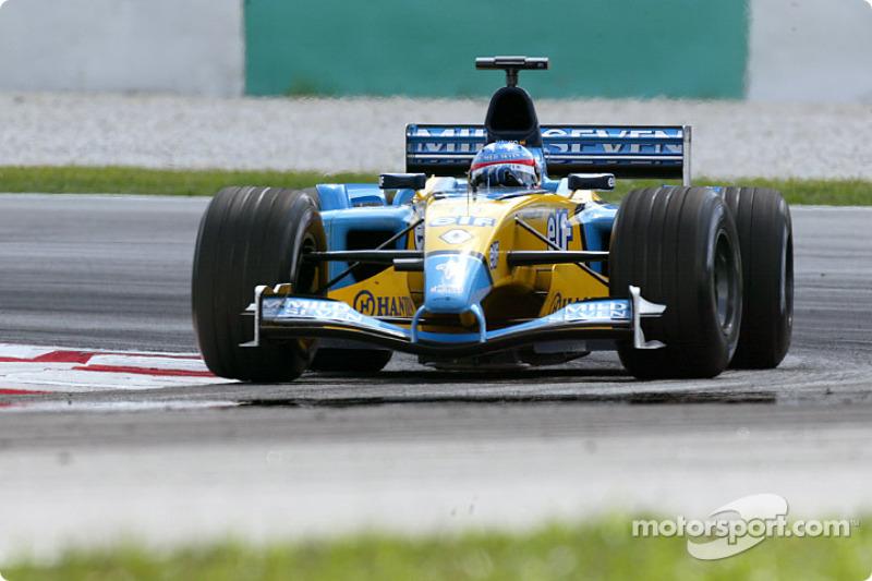 2003 : Fernando Alonso, Renault R23