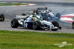 First corner: Ralf Schumacher