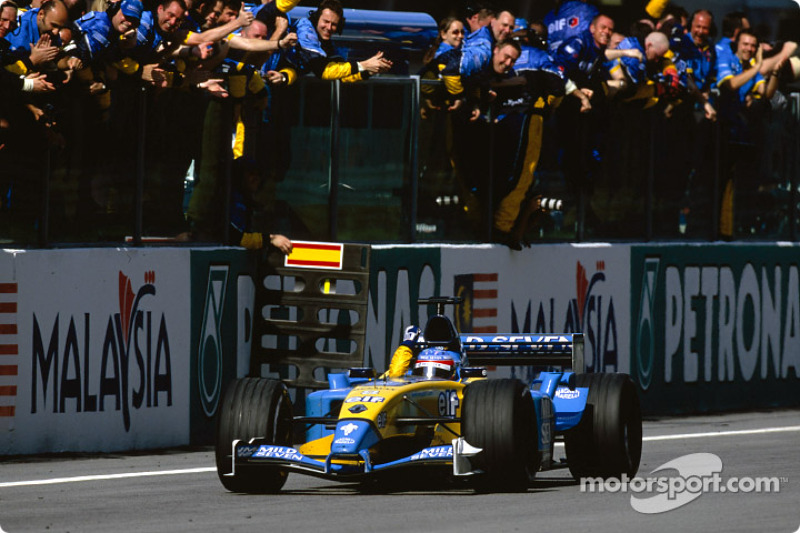2003: Fernando Alonso'nun ilk pole'ü ve ilk podyumu