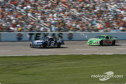 Rusty Wallace and Bobby Labonte