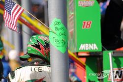 Message from Joe Gibbs Racing crew