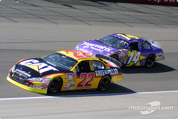 Ward Burton and Larry Foyt
