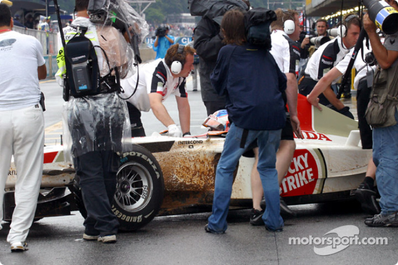 Jenson Button, future dirt track racer?