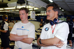 Ralf Schumacher and Mario Theissen