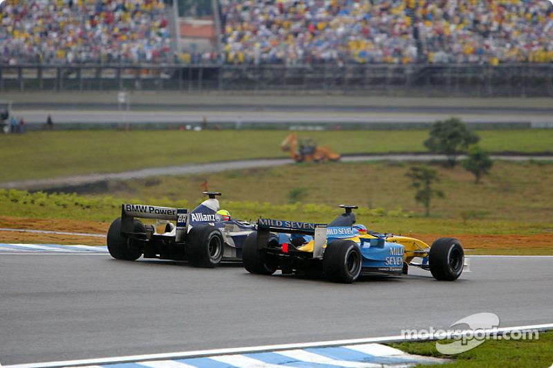Ralf Schumacher y Fernando Alonso