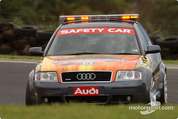 The Audi V8 Supercar safety car