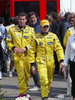 Drivers presentation: Ralph Firman and Giancarlo Fisichella