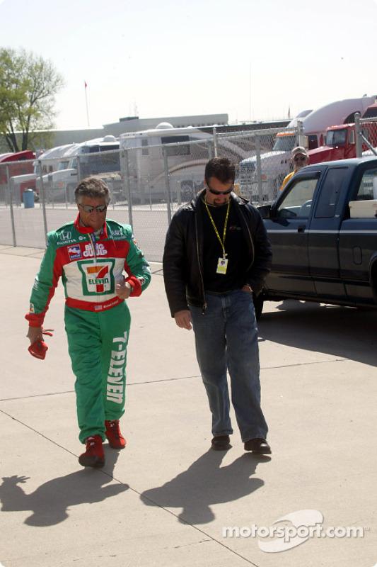 Mario et Michael Andretti