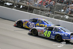 Jeff Green and Jimmie Johnson