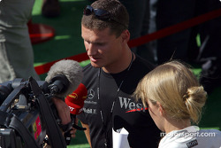 Interview for David Coulthard