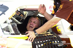Dale Jarrett looked totally fatigued after Happy Hour