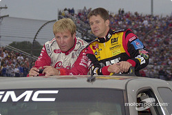 Sterling Marlin and Ward Burton