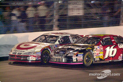 Two rookies get close, Casey Mears and Greg Biffle